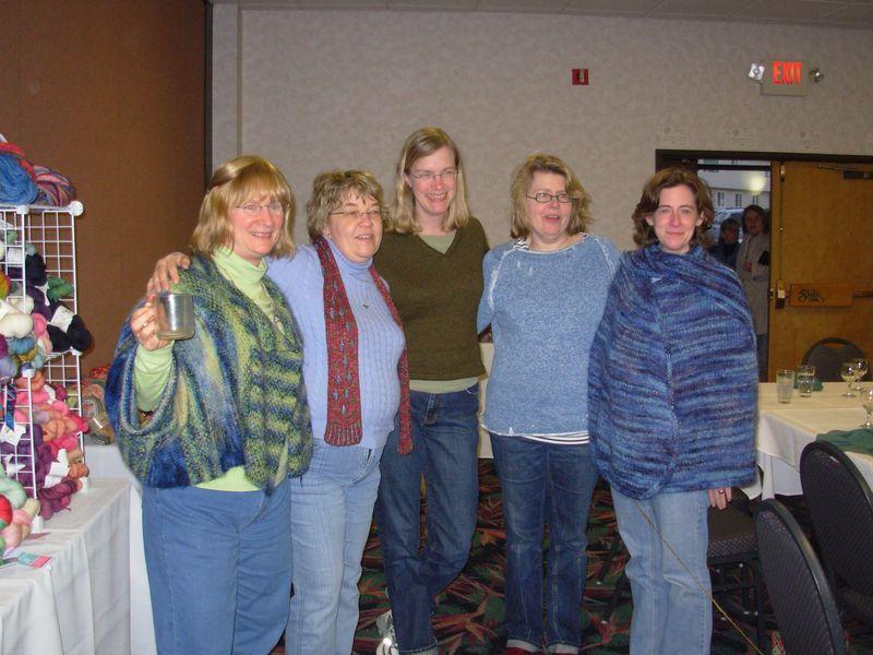 Cat, Ann, Kay and Ann