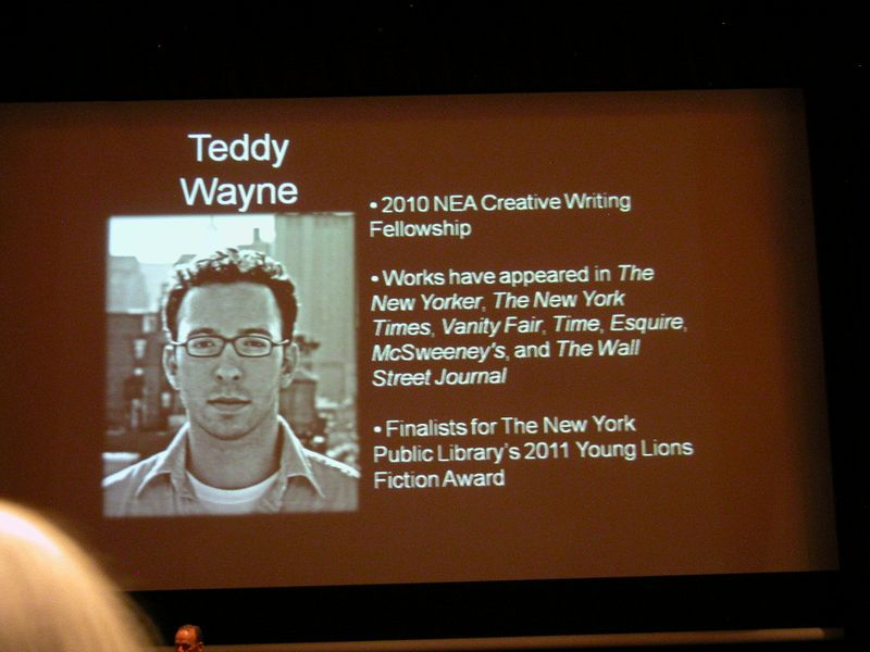 Teddy Wayne lecture at the Tower (4)
