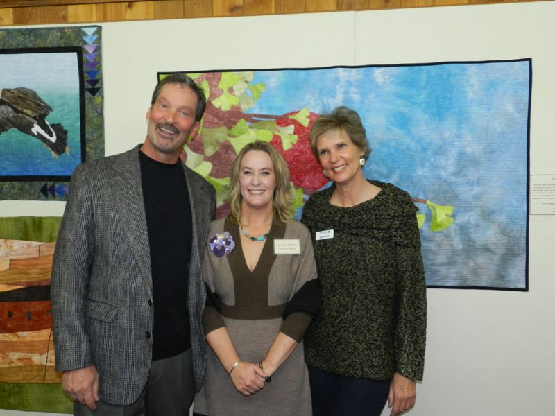 Janelle Rebick with Dave and Marilyn Ulrich