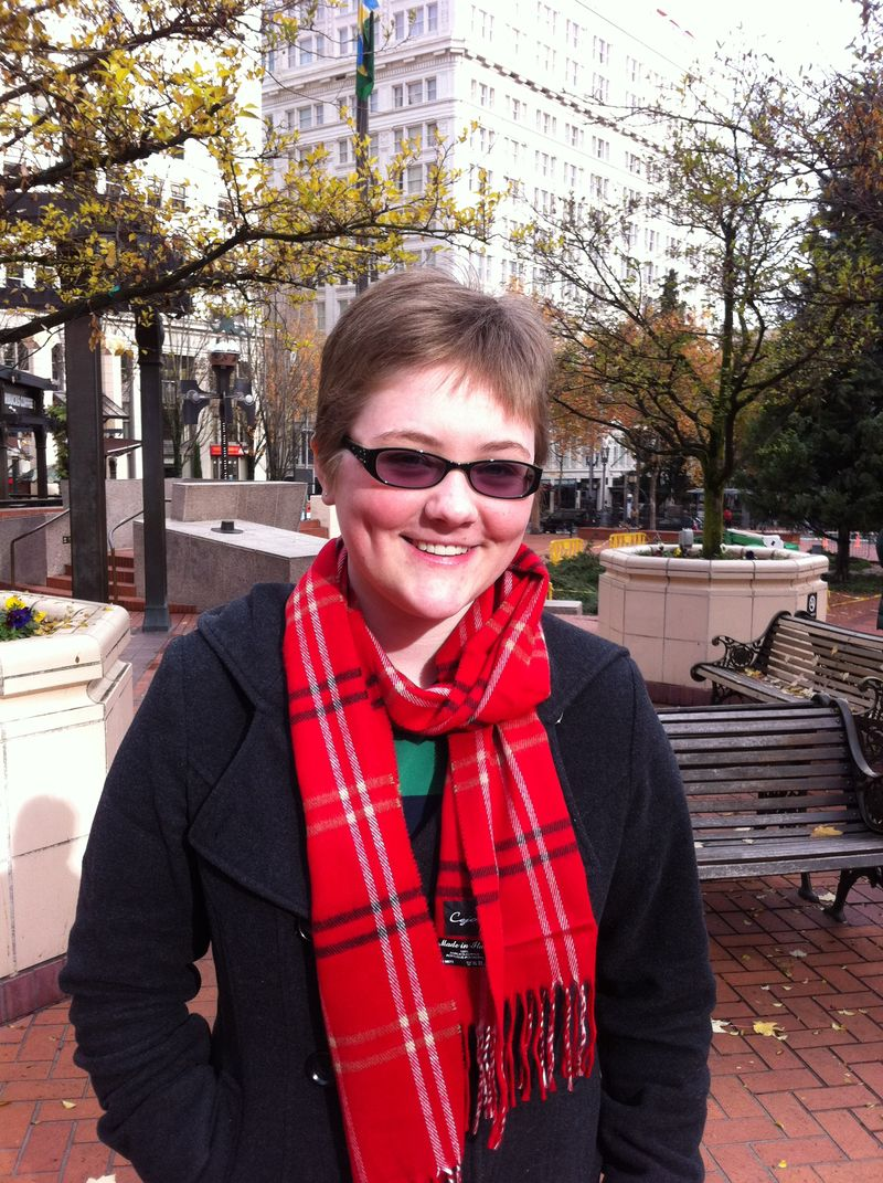 Chloe in Portland