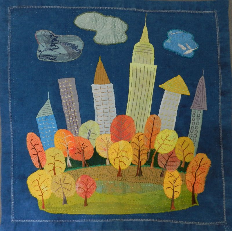 Autumn in New York finished