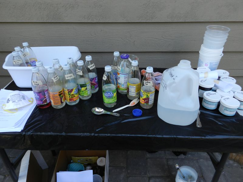 Fabric Dyeing- making the dye concentrate