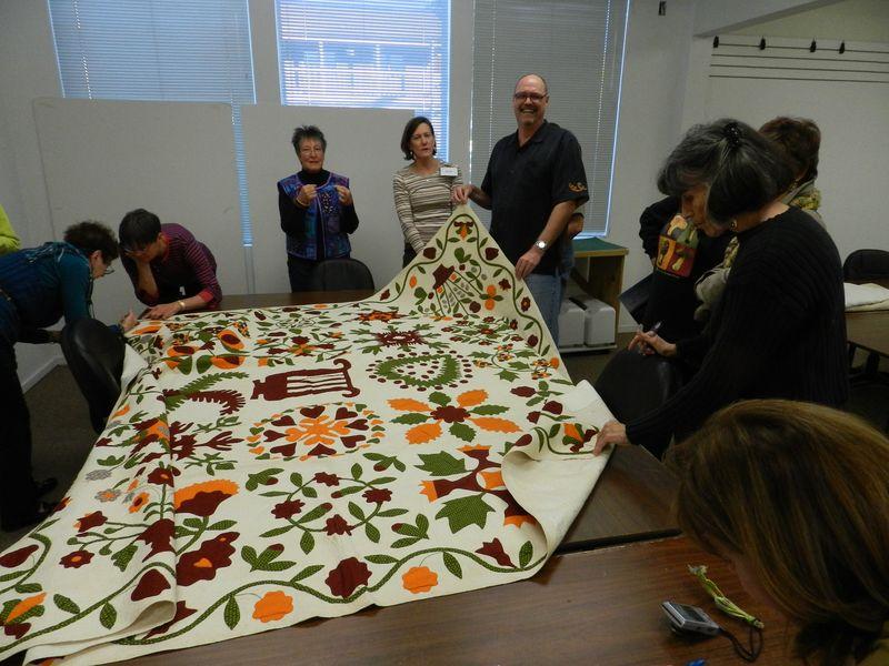 Bill Volkening's antique quilts (1)