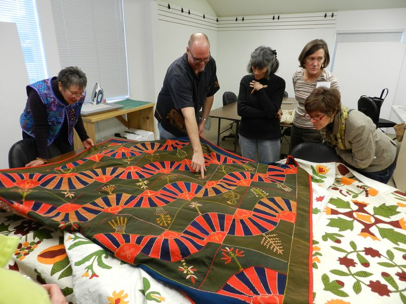 Bill Volkening's antique quilts (7)