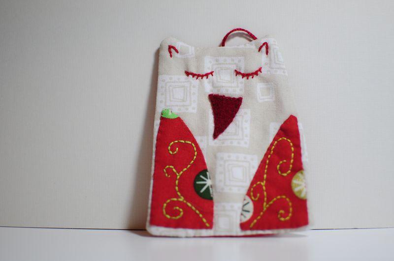 Circles Owl Ornament (1)