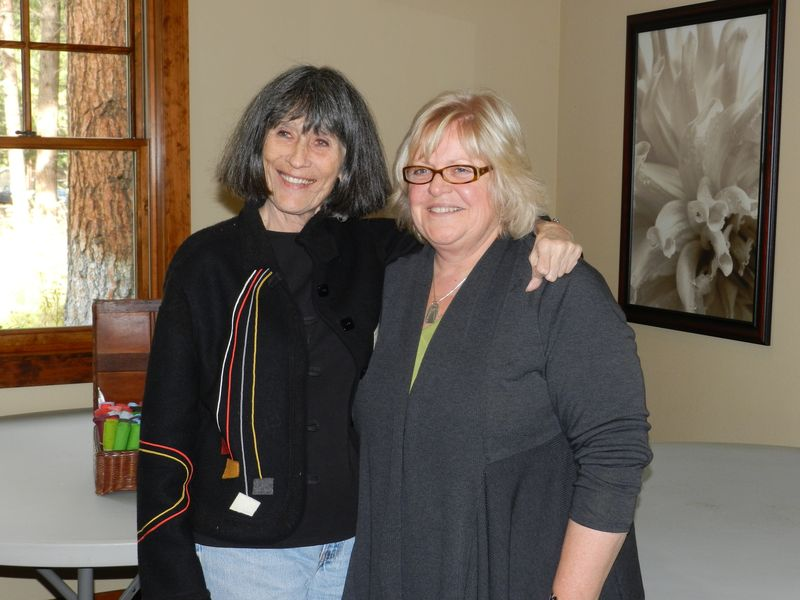 Gwen and Sue October 2012