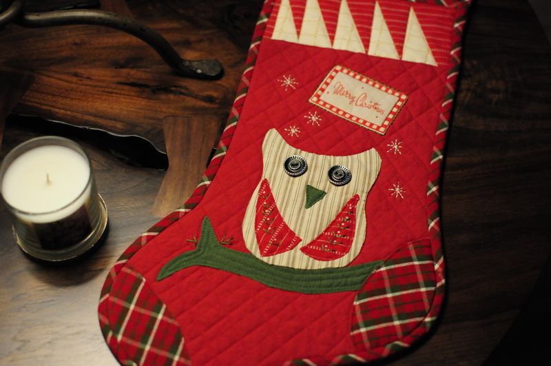Stocking for Stitchin' Post Hospice Contest (1)