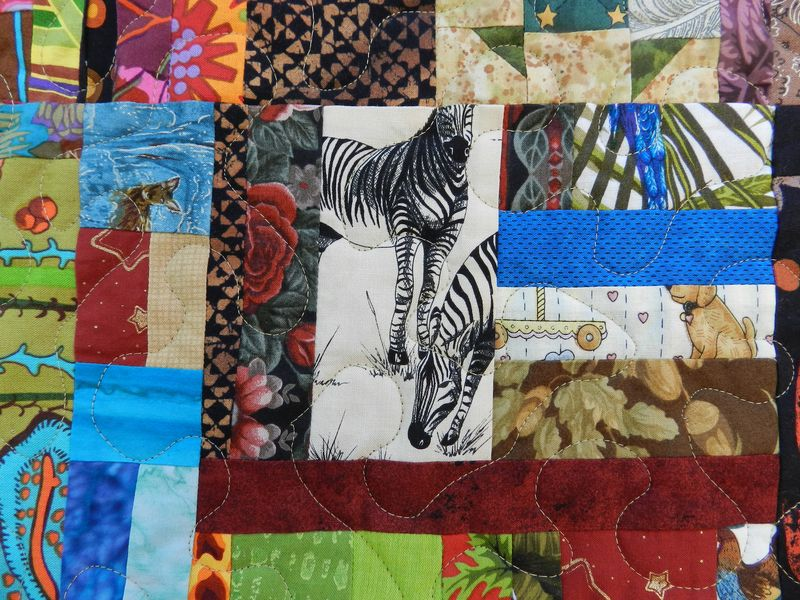 Scrappy Community Quilt (3)