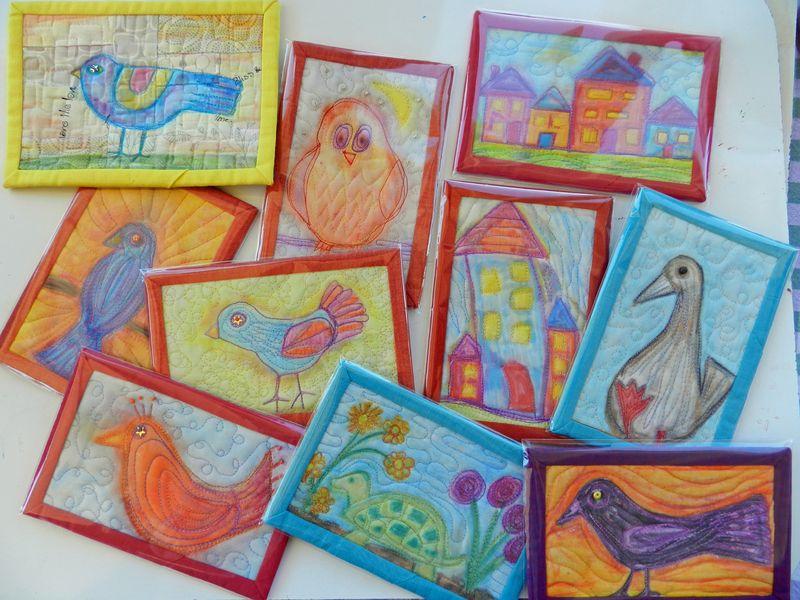 Watercolor postcards (6)
