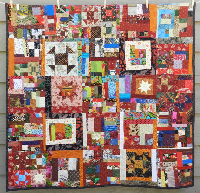 Scrappy Community Quilt (1)