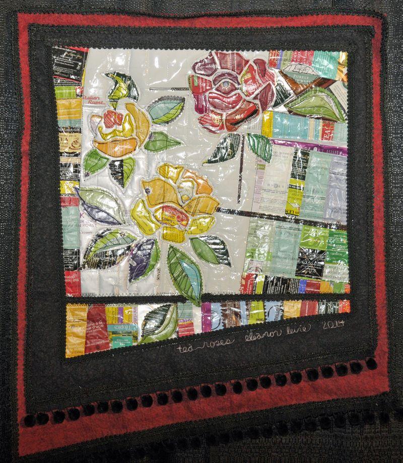 QKS 2014 Tea Roses by Eleanor Levie