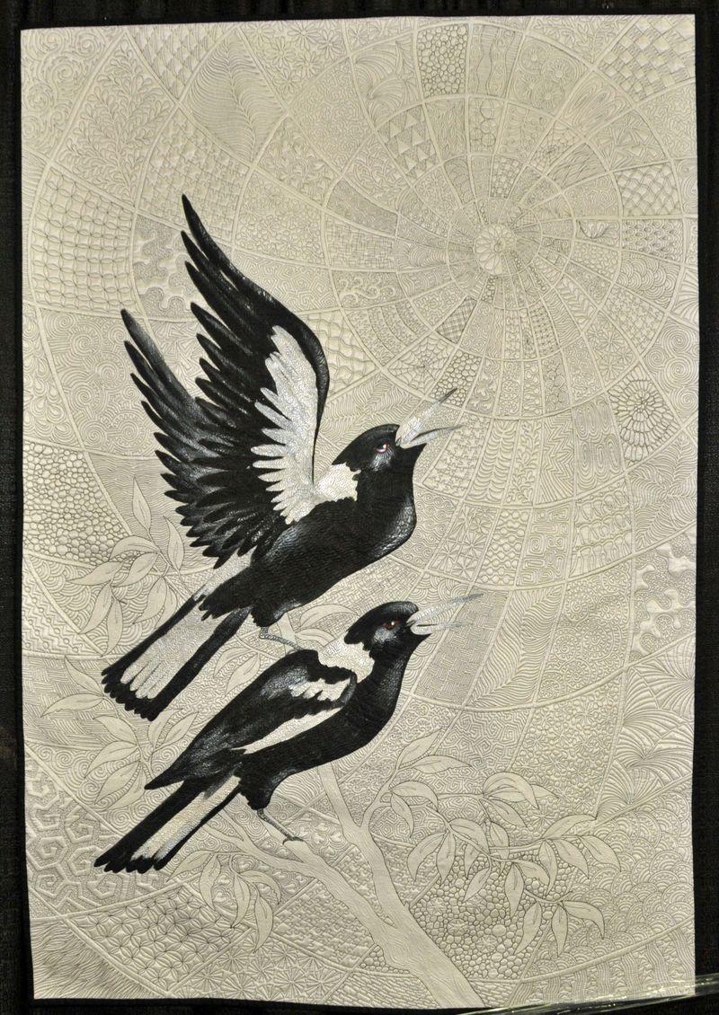 QKS 2014 Zen Magpies by Helen Godden