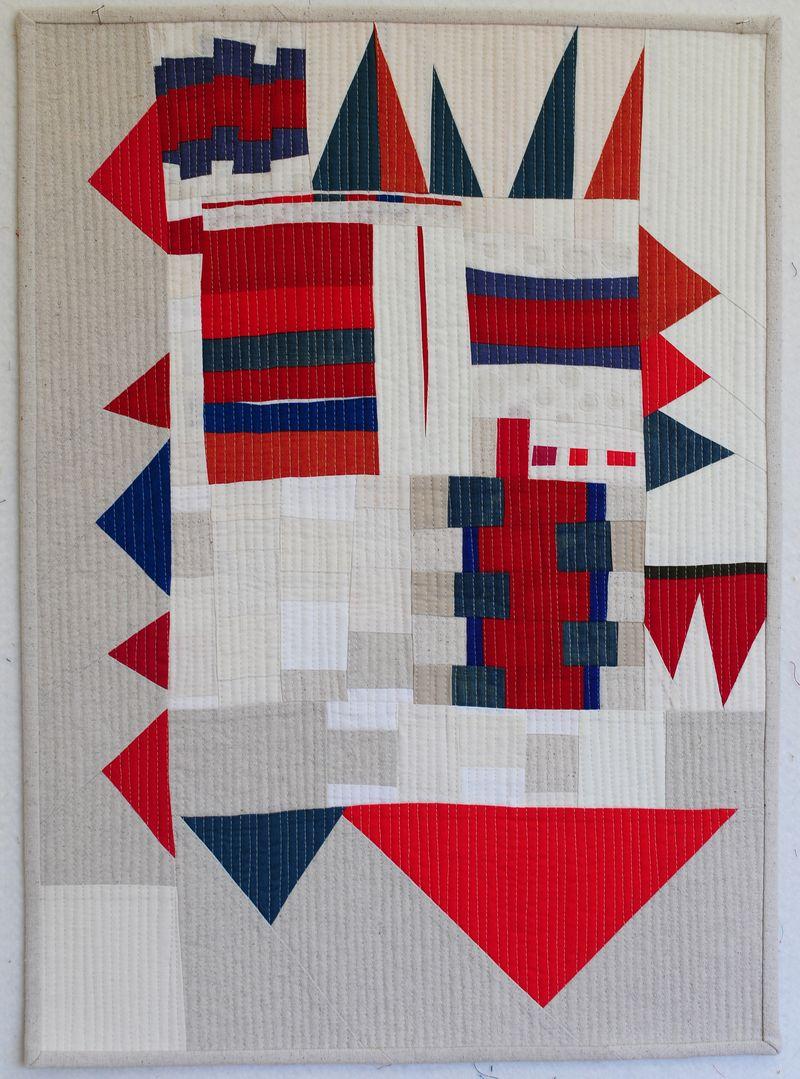 Red, white, blue improv sampler (1)
