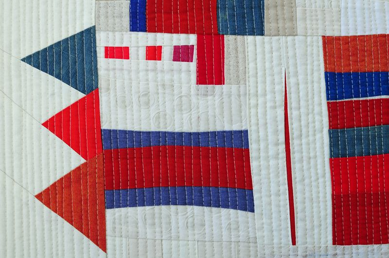 Red, white, blue improv sampler (3)