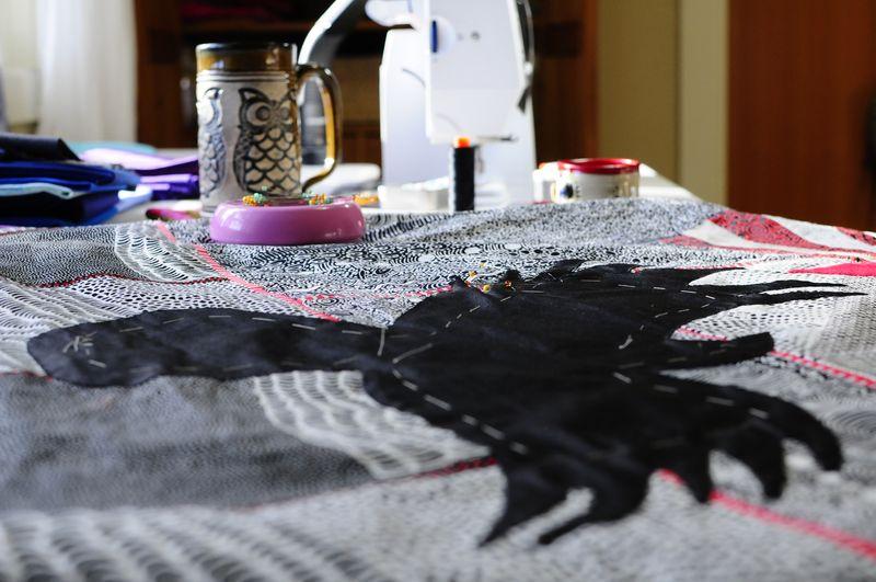 Celia's Raven in progress (6)