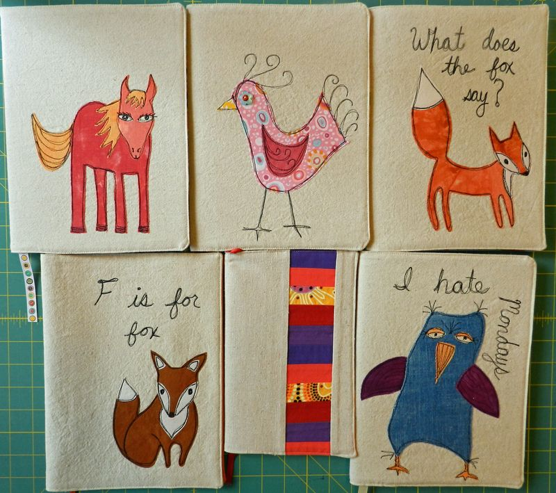 Whimsical Journal Covers