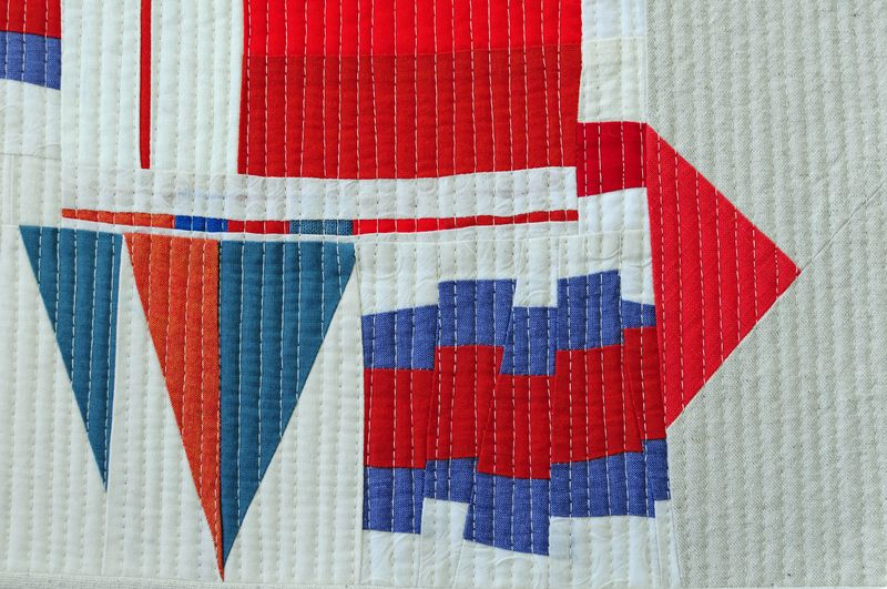 Red, white, blue improv sampler (2)